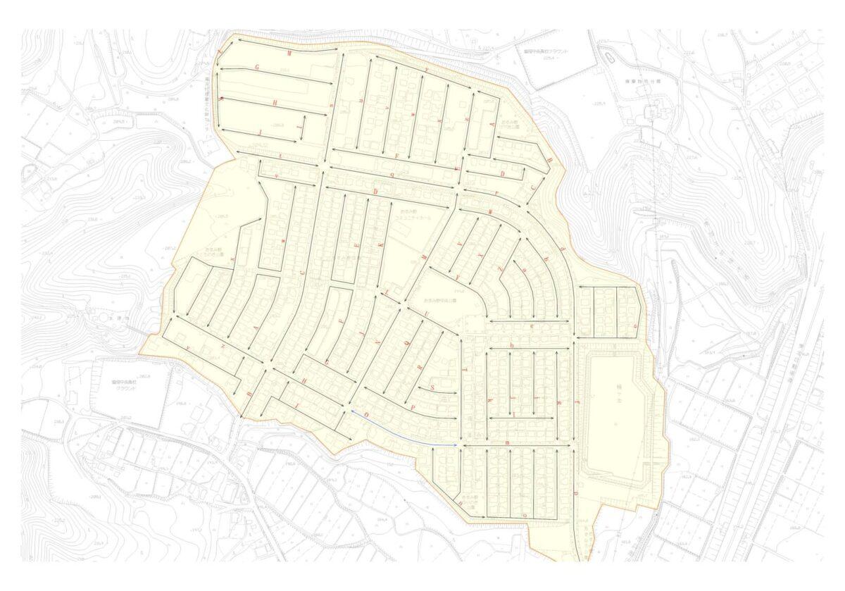 公開図(路線価図)